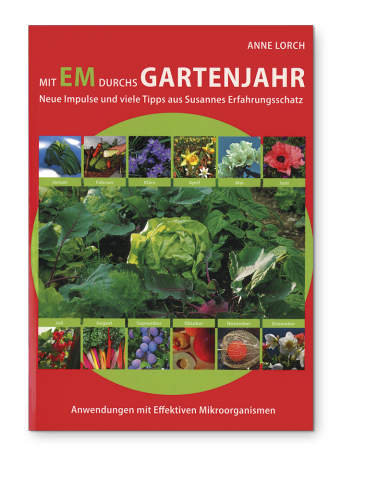 Through the gardening year with EM, German