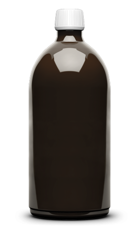 Pharma bottle brown