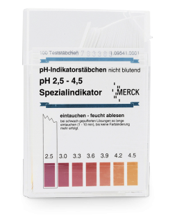 pH indicator stick