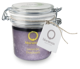 bioemsan shower salt lavender