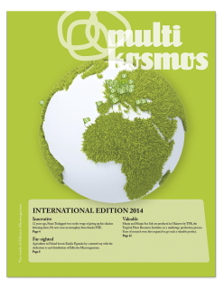 multikosmos special edition 2014, English