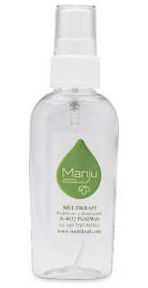 Spray bottle for Manju
