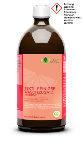 wMC Cleaner for Textiles / Washing Additive