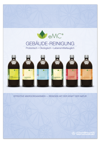 Brochure eMC professional cleaning, German