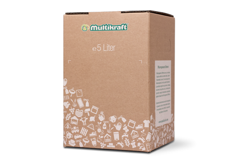 Carton Bag in Box blanc 5 L